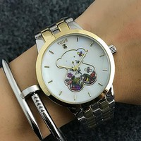 TOUS Women Cute Fashion Quartz Movement Wristwatch Watch