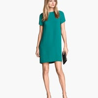 Short-sleeved Dress - from H&M