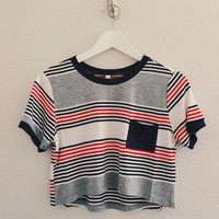 Noah Striped Pocket Tee