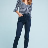 Citizens of Humanity Anabella High-Rise Straight Ankle Jeans