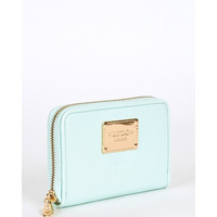 LYDC London Wallet Purse in Mint