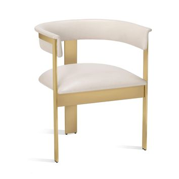 Darcy Dining Chair in Cream