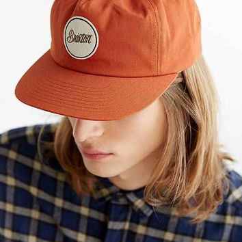 Brixton Reed Snapback Hat- Orange One