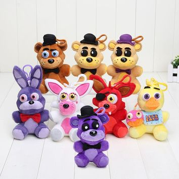 Pendant  in stock  at freddy fox bear toys plush dolls which kids love stuffed soft toys 14cm high