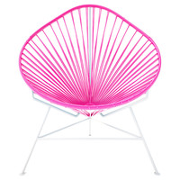 Acapulco Chair, Pink, Outdoor Dining Chairs