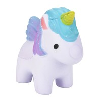 Lovely Rainbow Horse Dreamlike Unicorn Squishy Unbreakable Toys