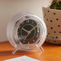 Clear Desk Clock   Urban Outfitters
