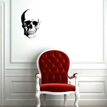 Wall Mural Vinyl Sticker Decal anger horror skull fear DA1914