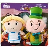 itty bittys® Disney Alice in Wonderland and Mad Hatter Stuffed Animals, Set of 2
