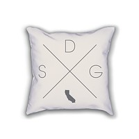 San Diego Home Pillow
