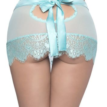 Oh la la Cheri Eyelash Lace Skirtini