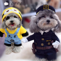 Warm Spring Autumn Outfits with Hoodies Coat Jackets for Dogs and Cats