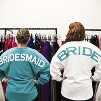 Bridesmaid's Spirit Football Jersey