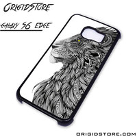lion tatto For Samsung Cases Phone Covers Phone Cases Samsung Galaxy S6 Edge Case Samsung Galaxy S6 Edge Case Smartphone Case