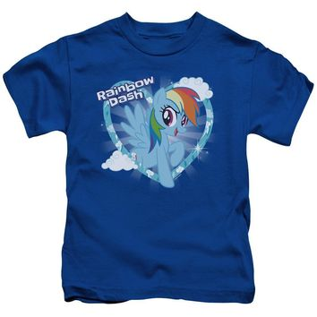 My Little Pony Boys T-Shirt Rainbow Dash Royal Tee