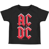 AC/DC Boys' Childrens T-shirt Black