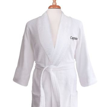 Lakeview Signature Egyptian Cotton Terry Spa Robes - Gift Shop Host