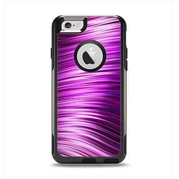 The Pink Vector Swirly HD Strands Apple iPhone 6 Otterbox Commuter Case Skin Set