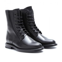 mytheresa.com -  Rangers leather boots  - Luxury Fashion for Women / Designer clothing, shoes, bags