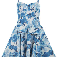 China Blue Print Dress - View All  - Sale & Offers