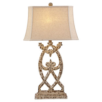 Consuela Table Lamp, Cream, Table Lamps