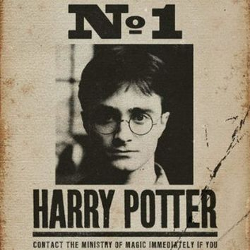 "Harry Potter - Movie Poster / Print (Harry Potter Wanted - Undesirable No. 1) (Size: 24"" x 36"")"