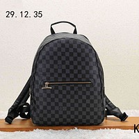 LV Louis Vuitton 2018 new men's casual wild casual canvas backpack