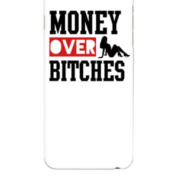 money over bitches  - iphone 6 Plus Case