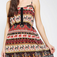 Urban Outfitters -  Staring At Stars Elephant Paisley Slip