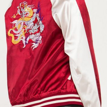 DRAGON MEET MIDWEST SATIN BOMBER - What's New