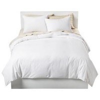 Solid Cotton Blend Duvet Cover Set - Room Essentials™