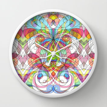 Ethnic Style G29 Wall Clock by MedusArt