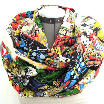 Thor Marvel Comic Book Infinity Scarf