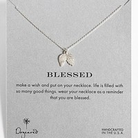 Dogeared 'Reminder - Blessed' Boxed Angel Wings Pendant Necklace | Nordstrom