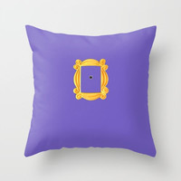 Friends Throw Pillow or Cover, Best Friends Gift, Friends TV Show, Purple Pillow, Purple Pillow Cover