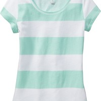 Old Navy Girls Rounded Hem Tees