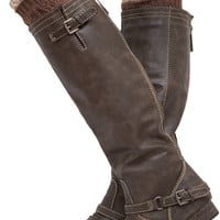 Nica Boot Cuff - Brown