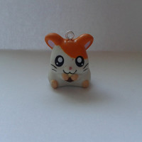 Hamtaro nr.24  toy  charm pendant, ornament figures figure