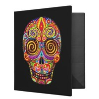 Day of the Dead binder from Zazzle.com