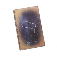 Gemini Journal - Zodiac Constellation Notebook - Horoscope Diary
