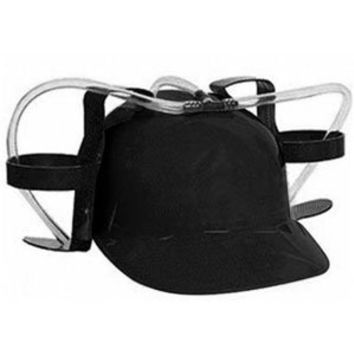 Black Beer Soda Guzzling Party Drinking Hat Helmet