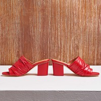 CHARLIZE RED SANDALS