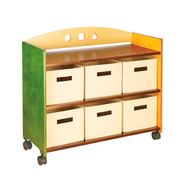 Guidecraft See and Store Rolling Storage Center - G98305