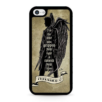 Perdition Castiel Supernatural iPhone 5C Case