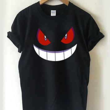 Pokemon Gengar T-shirt Men, Women Youth and Toddler