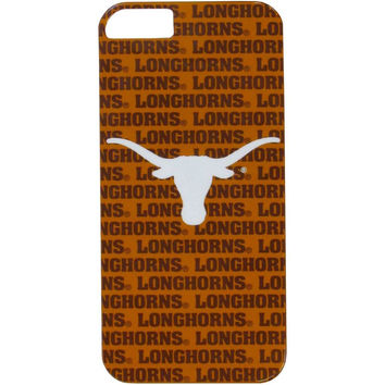 Texas Longhorns iPhone 5/5S Graphics Snap on Case C5GR22