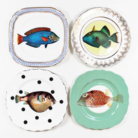 Fancy Fish plates set