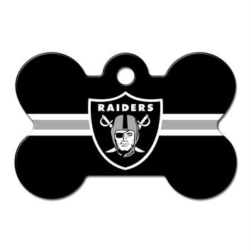 Oakland Raiders Bone ID Tag