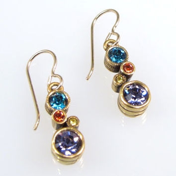 Patricia Locke Jewelry - Cassie Earrings in Zest