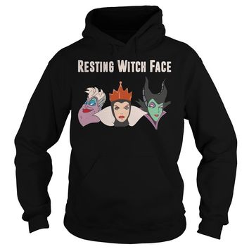 2017 Disney Resting witch face shirt Hoodie